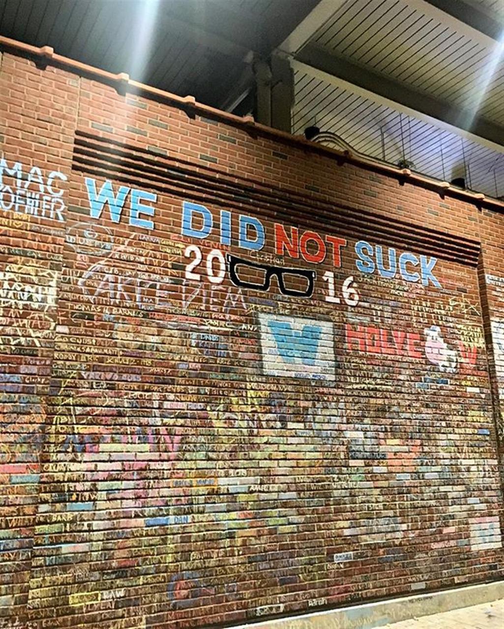 When we're feeling down, we remember we did not suck in 2016 #worldserieschampions #chicagocubs #chicago #hometownpride #leadingrelocal #bairdwarner