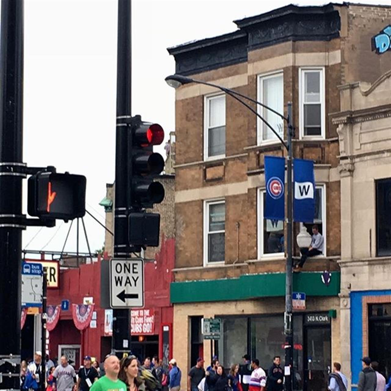 Game day in #weigleyfield #bairdwarner #leadingrelocal  #chicago #cubs