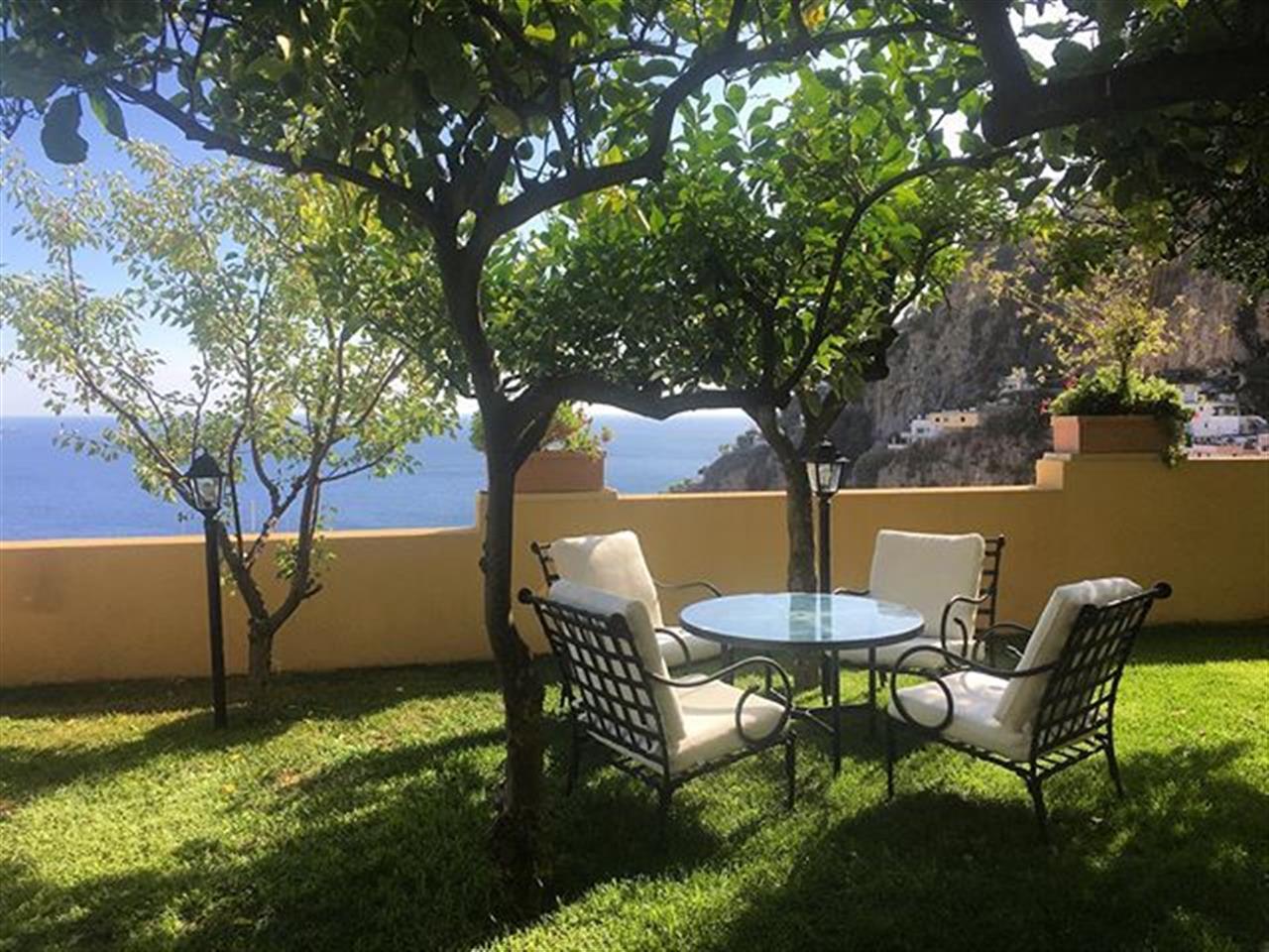 A quiet garden in #Positano #Italy  #almaficoast #leadingrelocal #bairdwarner