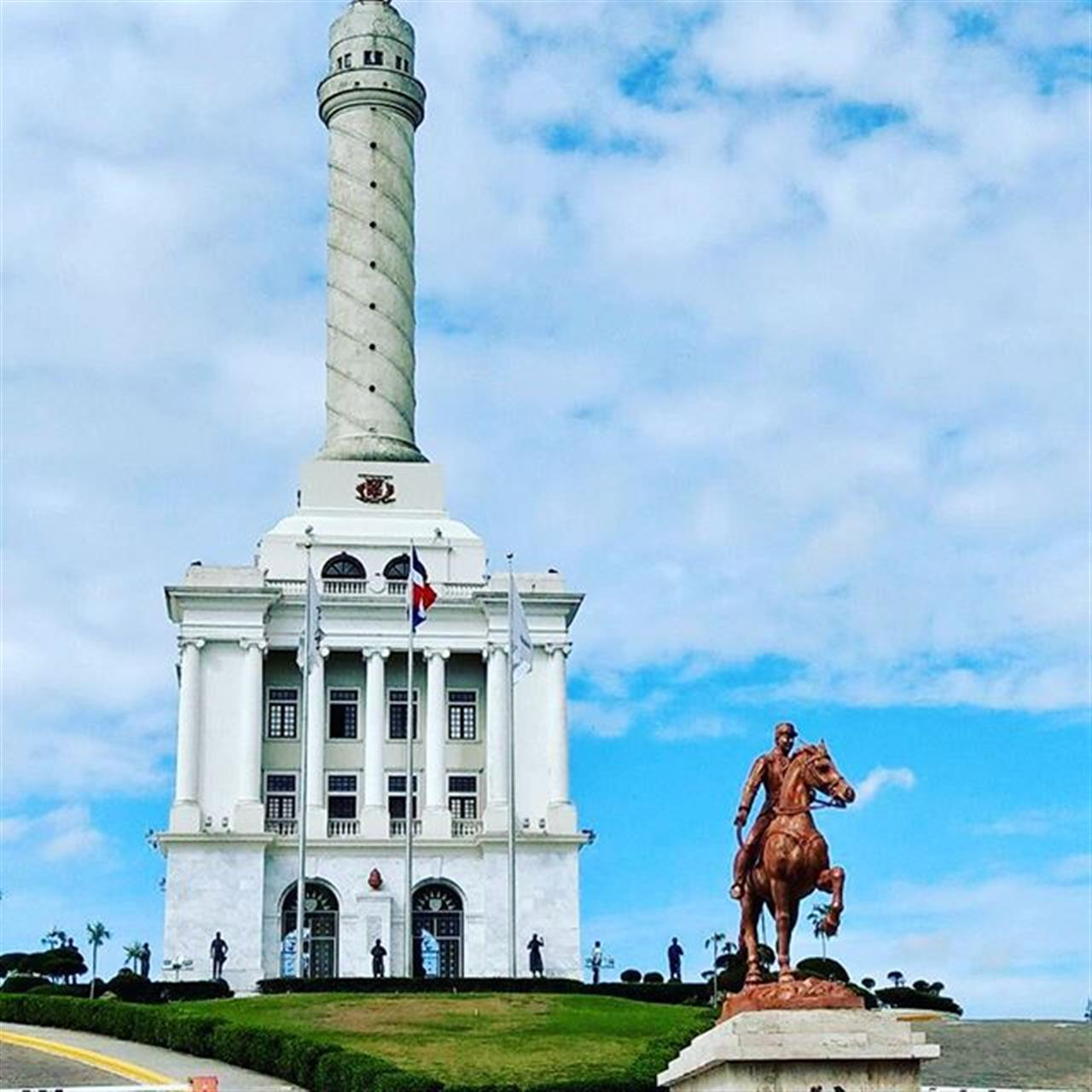 I like to share today the monument in Santiago, second biggest city on the island. #santiago #dominicanrepublic #monument #leadingrelocal #history #culture