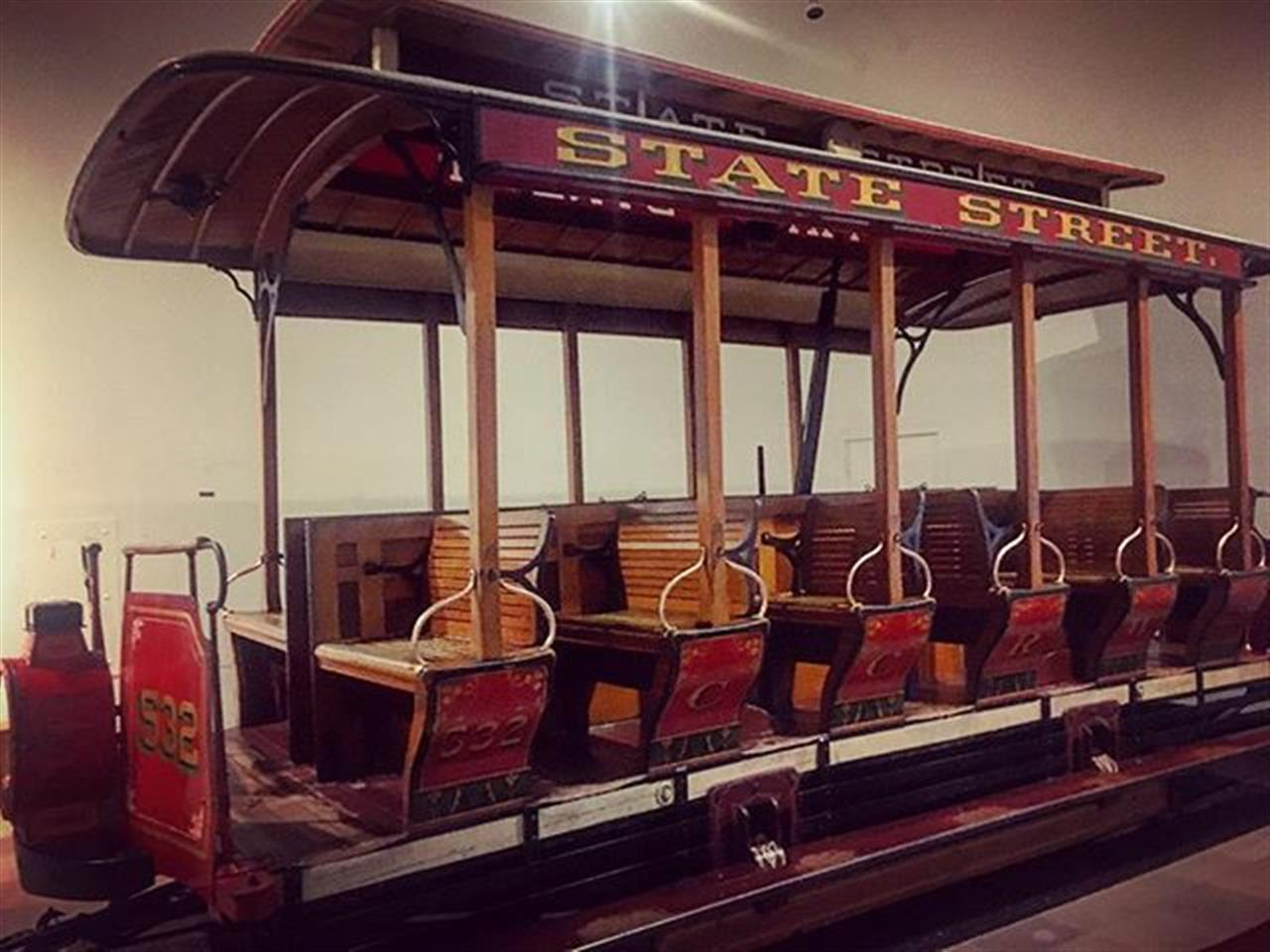 An old #Chicago street car that rode down historic State Street housed in the Museum of Science and Industry. #chicago #msichicago #museums #statestreet #hydepark #leadingrelocal #bairdwarner