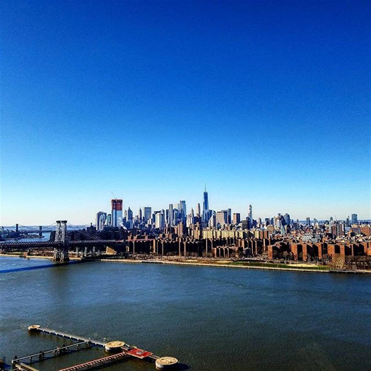 The view from my listing at One Northside Piers is, well... You be the judge. #spectacularview #spectacularviews #eastriver #northsidepiers #williamsburgwaterfront #williamsburgbrooklyn #luxuryrealestate #exploreyourhood #leadingrelocal #leadingrealestatecompaniesoftheworld #manhattanview #manhattanskyline #realestatemuse #realestateporn