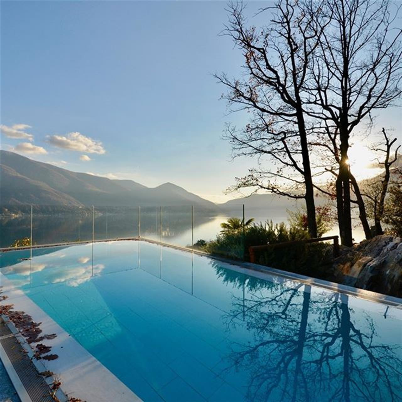 Beautiful #LakeMaggiore view in December last year from #Ascona, #Ticino, #Switzerland. This #apartmentforsale with swimming pool will be next available. WATCH OUT!  #apartmentforsale #luxuryrealestate #inlovewithswitzerland #luxurylife #luxurylifestyle #christiesinternationalrealestate #luxuryportfolio #wetagconsulting #leadingre #ChristiesHomes #LeadingRElocal