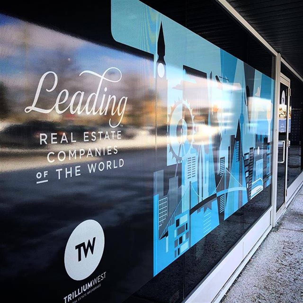 Connecting Guelph, globally  TrilliumWest is proud to be part of the Leading Real Estate Companies of the World  - - - - #realestate #realtor #guelph #seeninguelph #trilliumwest #leadingre #leadingrelocal #blue #art #window #windowart #cityscape #global #lovewhereyoulive #digitalart