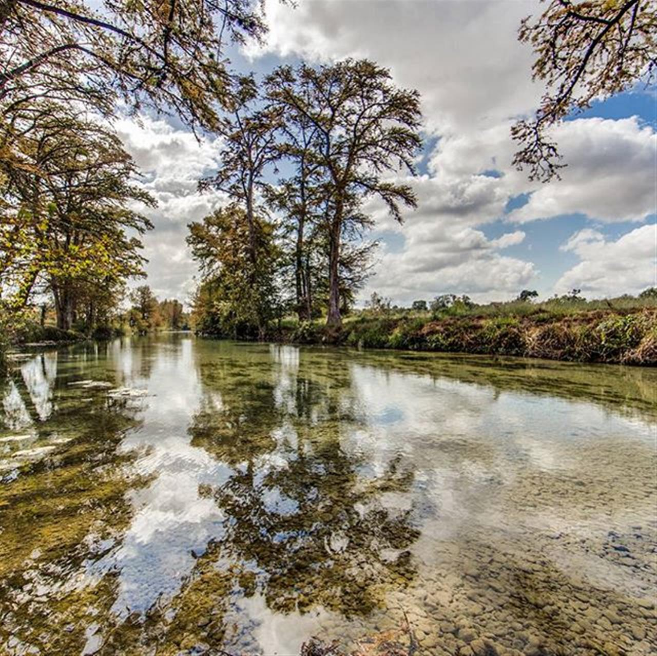 #RANCHROUNDUP 1829 Peaceful Valley Road listed by Charles A. Beever III. This beautiful acreage includes approx. 1,200 ft. of cypress and pecan-lined Medina River frontage, 3,000 ft. of both sides of Hicks Creek and a secondary creek which runs frequently. #TheVeryBest