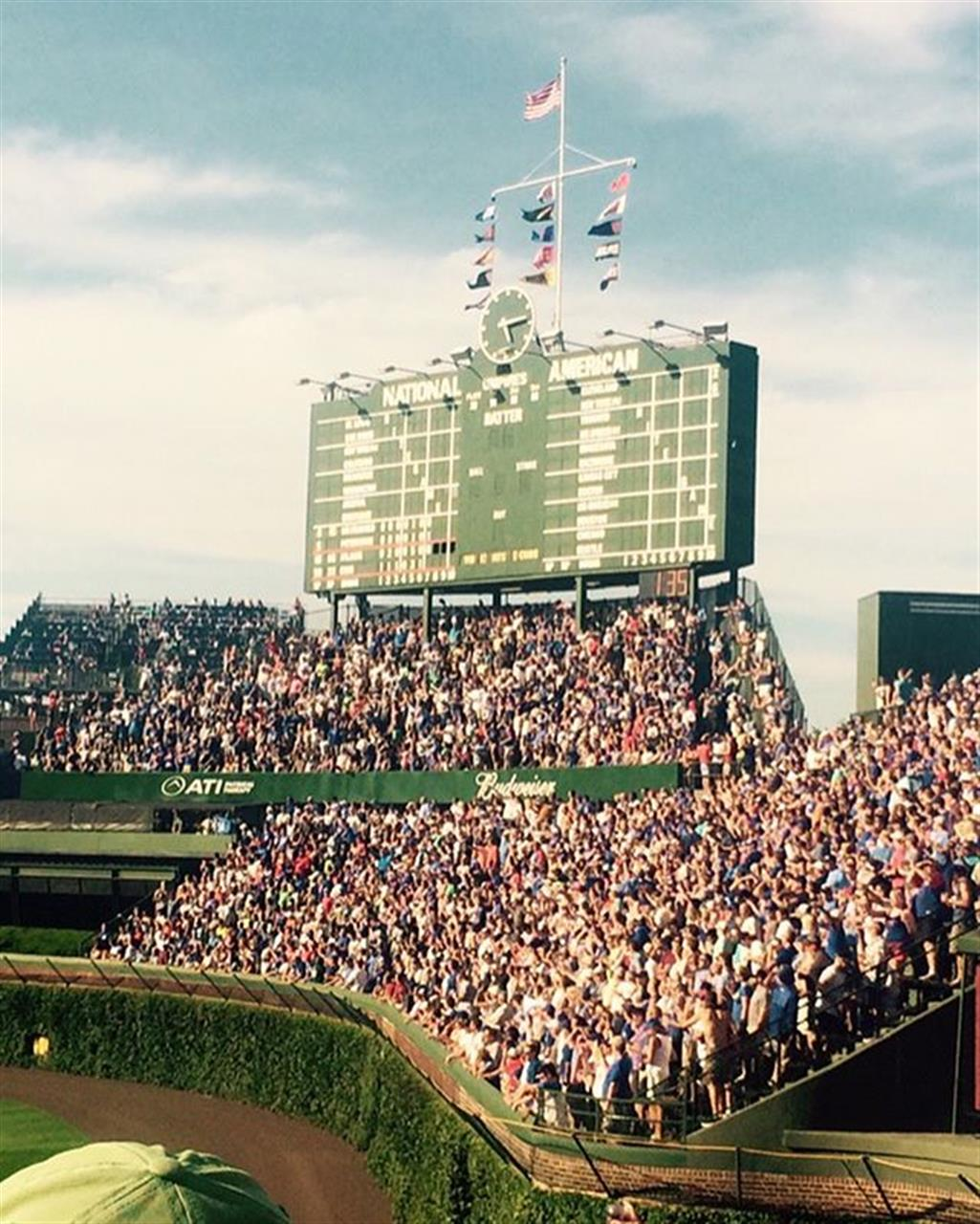 It's Opening Day!!! Here's some of our favorite memories from iconic #WrigleyField in the heart of #Lakeview .. .. .. #chicago #chicagocubs #lakeview #everybodyin #letsgocubs #baseball #spring #rizzo #heyward #bryant #leadingrelocal #bairdwarner #livelocal #hometown