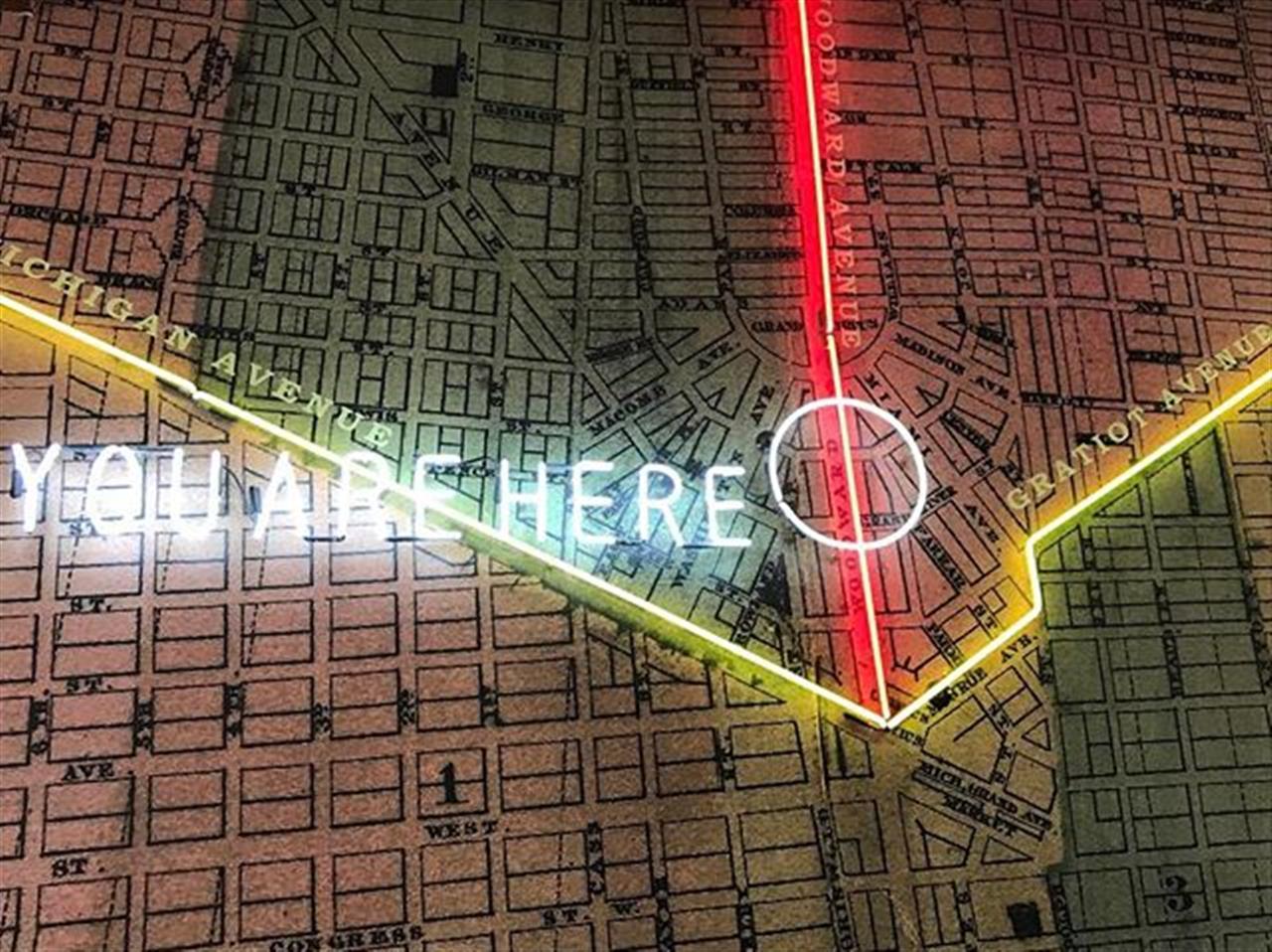 #exploringdetroit #detoit #michigan #movetodetroit @ashesupplyco #youarehere #leadingrelocal